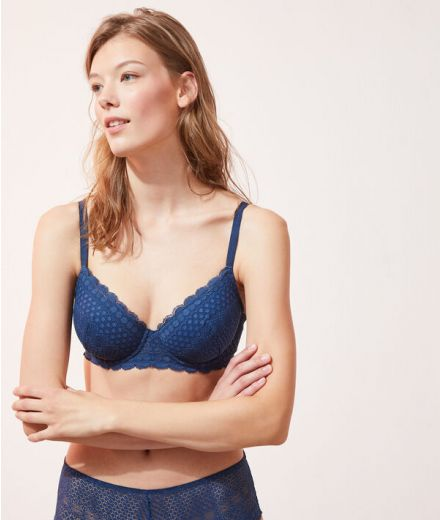 Lightly Padded Plunge Bra