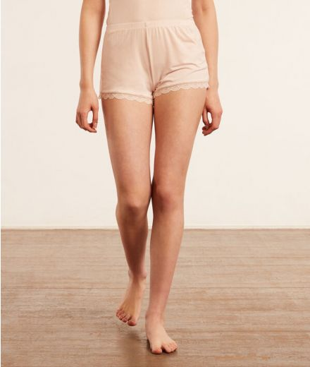 CIDDY Shorts with lace details