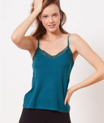 Camisole with lace details-6519792