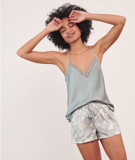 Camisole with lace details (6520578)