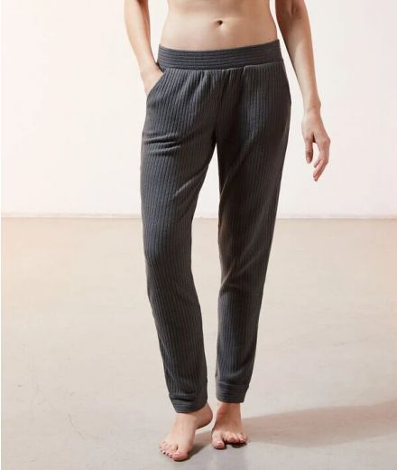Lounge ribbed Trousers Green
