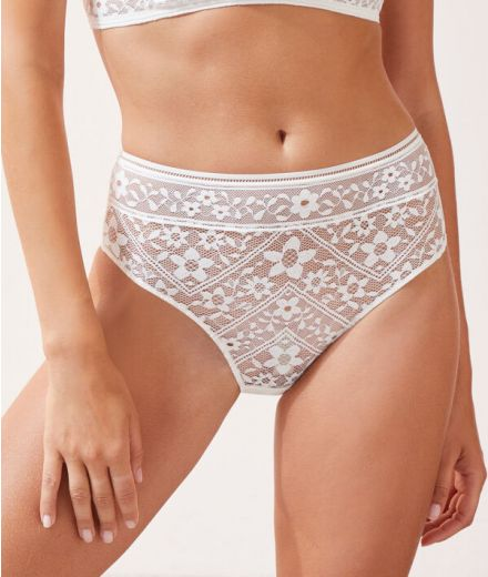 Lace High waisted Panty-6521295
