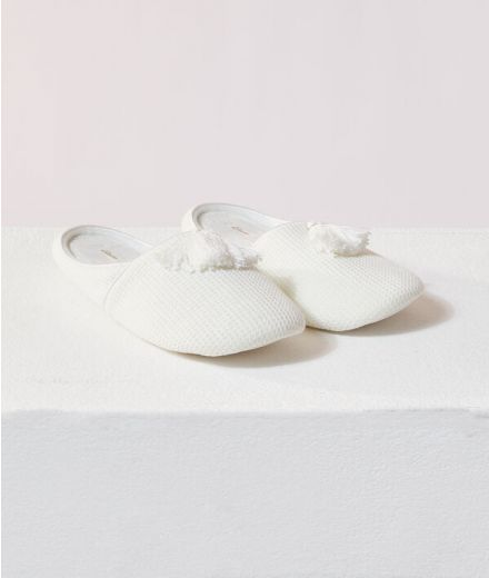 Pompons mule Slippers