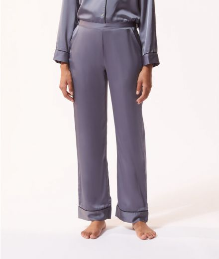 Pantalon de pyjama satine Blue