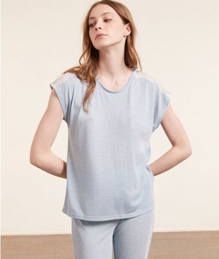 WARM DAY Short-sleeved top