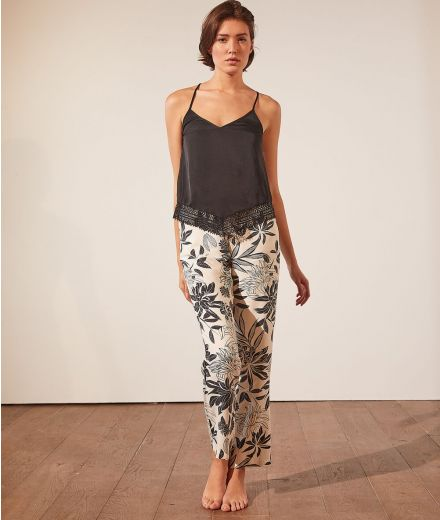 NEW CAFEINE Cami with lace details