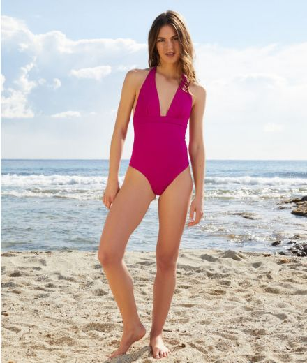 SHAPEWEAR PROMESSE Underwired sculpting one-piece swimsuit