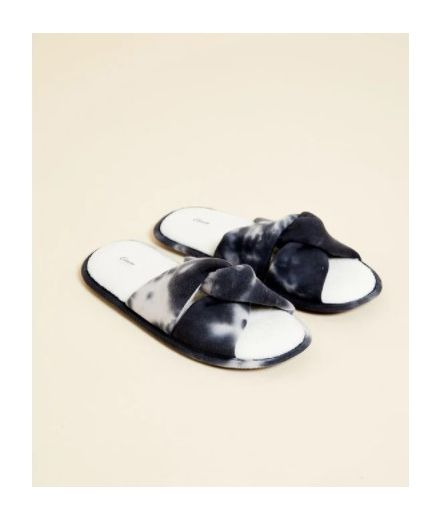DORIS Tie and dye effect thong slippers